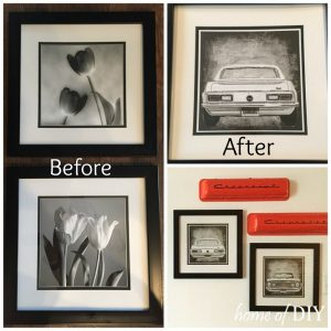 Upcycle old frames