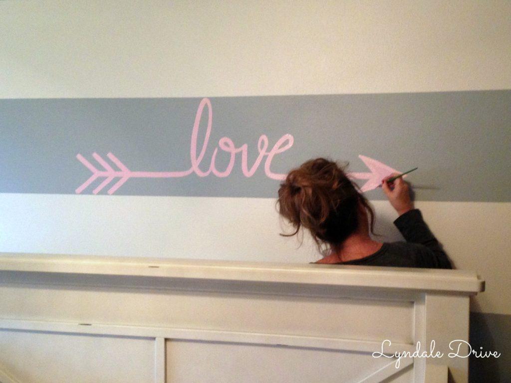 Love-wall-stencil