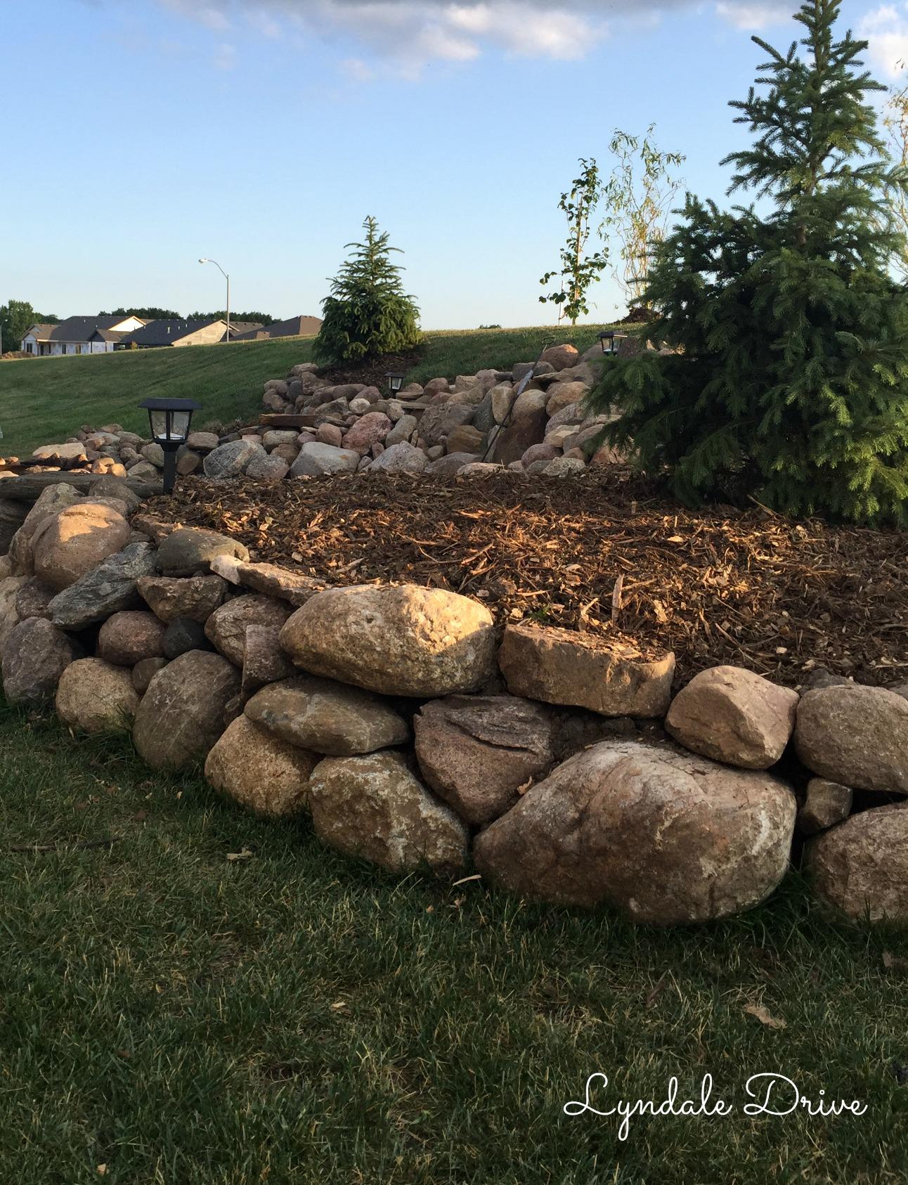 Building Our Backyard Fire Pit Lyndale Drive