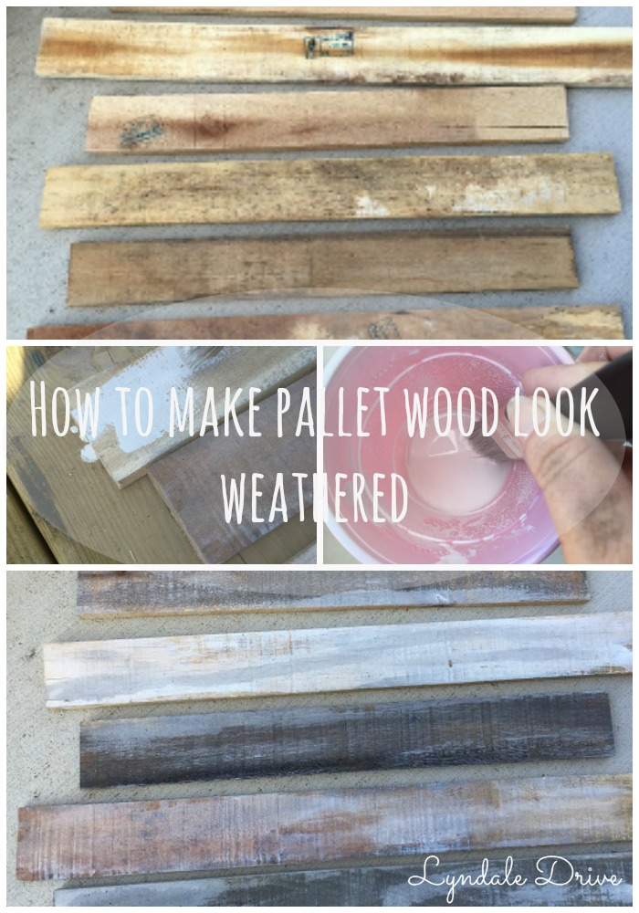 how-to-make-pallet-wood-look-weathered