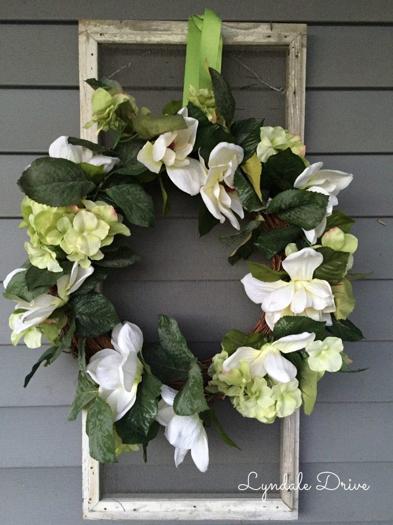 Hydrangea-wreath