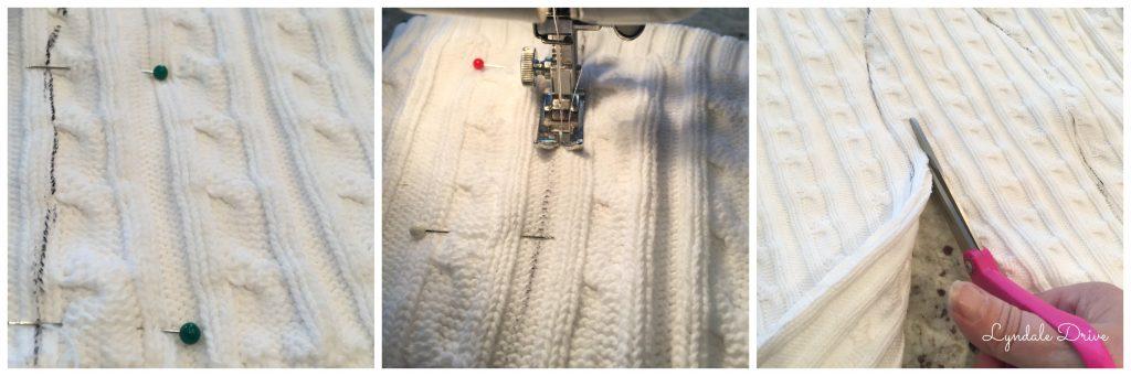 Sewing-stockings