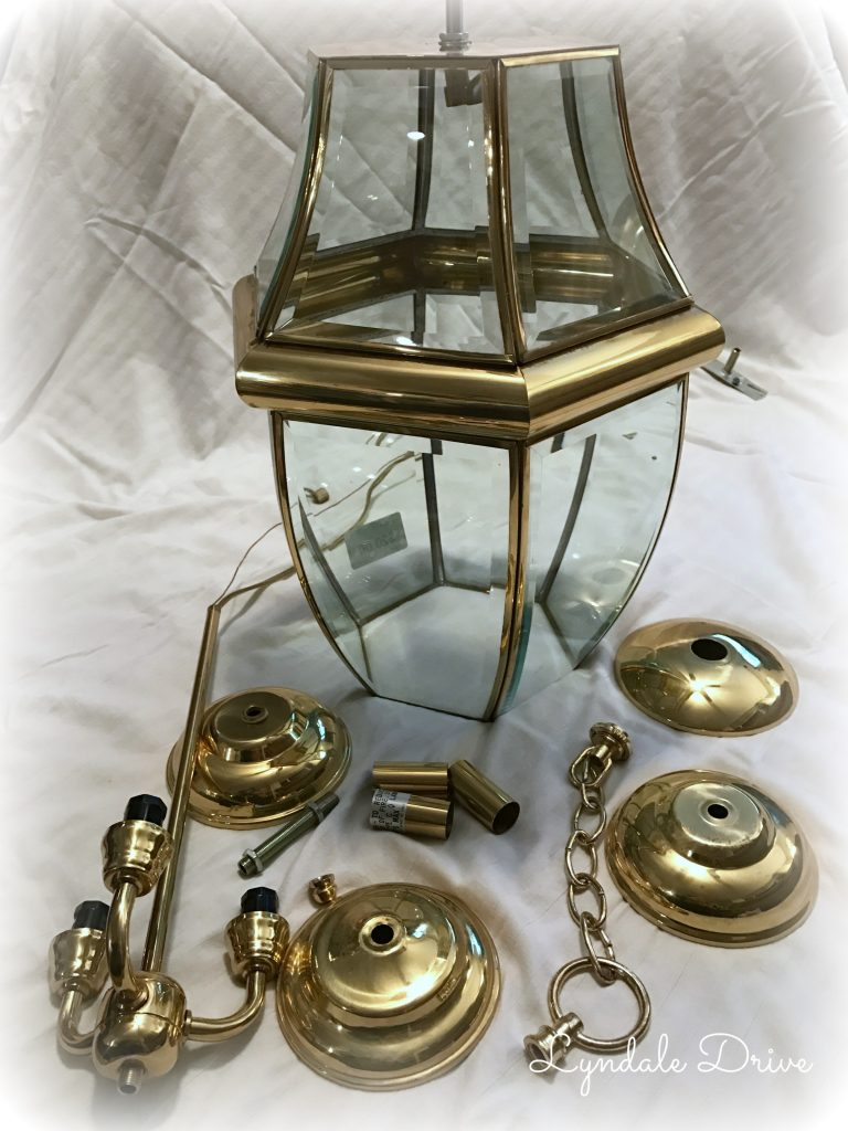 Brass-lamp-in-pieces